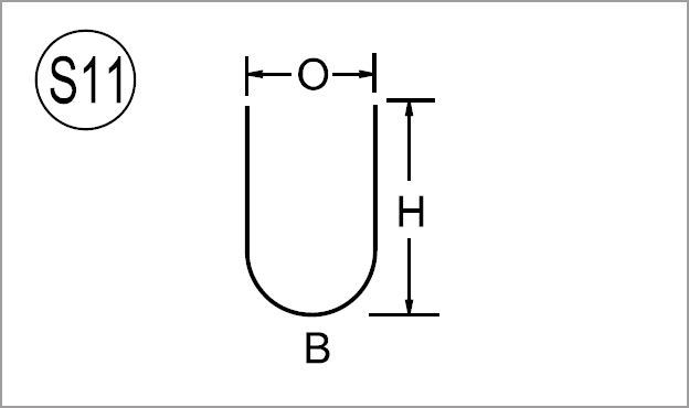 Typical Bar Bends
